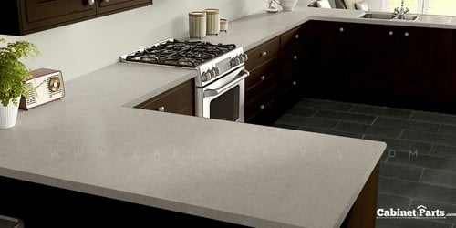 Wilsonart Raw Cotton Fine Velvet Texture Finish 5 ft. x 12 ft. Countertop Grade Laminate Sheet 4947-38-350-60X144