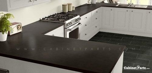 Wilsonart Sable Soapstone Fine Velvet Texture Finish 4 ft. x 8 ft. Peel/Stick Vertical Grade Laminate Sheet 4883-38-735-48X096