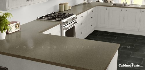 Wilsonart Sandy Topaz Textured Gloss Finish 4 ft. x 8 ft. Countertop Grade Laminate Sheet 4862K-07-350-48X096
