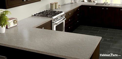 Wilsonart Silver Travertine HD Glaze Finish 5 ft. x 12 ft. Countertop Grade Laminate Sheet 1858K-55-376-60X144