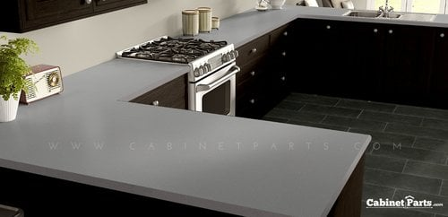 Wilsonart Titanium EV Matte Finish 4 ft. x 8 ft. Countertop Grade Laminate Sheet 4810-60-350-48X096