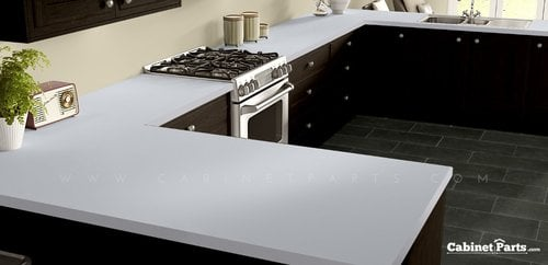 Wilsonart White Matte Finish 5 ft. x 12 ft. Countertop Grade Laminate Sheet 1570-60-350-60X144