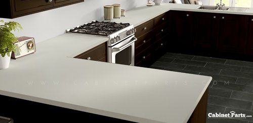 Wilsonart White Sand Matte Finish 5 ft. x 12 ft. Countertop Grade Laminate Sheet D403-60-350-60X144
