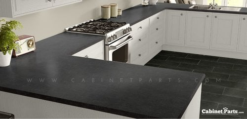 Wilsonart Windswept Pewter Matte Finish 4 ft. x 8 ft. Peel/Stick Vertical Grade Laminate Sheet 4795-60-735-48X096