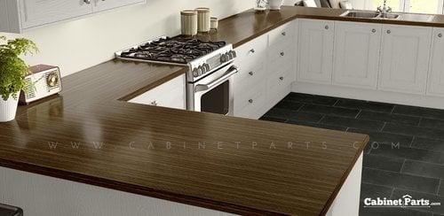 Wilsonart Zebrawood Linearity Finish 4 ft. x 8 ft. Countertop Grade Laminate Sheet 7980K-18-350-48X096